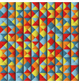 colorful geometrical abstract background vector image