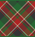 plaid classic tartan seamless pattern vector image