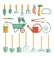 tools for gardening vector image