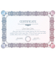 certificate diploma vector image