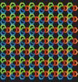 hexagone pattern background vector image