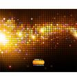 Sparkling Disco Background vector image