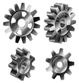 Gear set vector image vector image