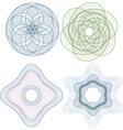 Guilloche elenent vector image vector image