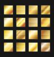 gold gradient background textures set vector image