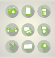 modern devices set collection vector image