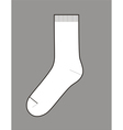 Sock vector image