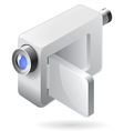 Isometric icon of video camera vector image vector image