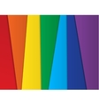 Bright abstract rainbow background vector image