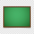 blackboard frame isolated on transparent vector image vector image