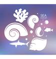 Ocean Reef vector image vector image