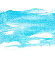 banner blue watercolor vector image