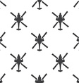 helicopter seamless pattern vector image