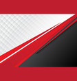 template corporate concept red black grey and vector image