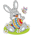 Easter Bunny vector image vector image
