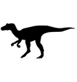 allosaurus vector image vector image