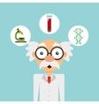 scientific laboratory worker concept vector image