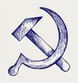 SSSR vector image vector image