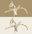 birds 2 vector image