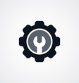 Cog Settings Icon Symbol vector image