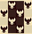 texture eagle vector image