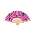 Fan for kabuki dance Geisha accessories vector image