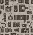 Modern and retro photo technics vector image vector image