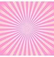 1960s sunburst background vector image
