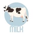 Cow Milk Banner vector image