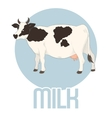 Cow Milk Banner vector image