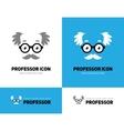 Old man logo vector image vector image