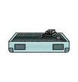 disk jockey turntable icon vector image