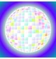 ball fun disco party maracle vector image