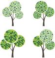 art season trees vector image