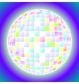 ball fun disco party maracle vector image
