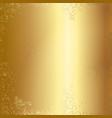 gold foil texture background vector image
