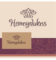 Honeydukes Logo business card vector image