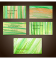 spring cards vector image