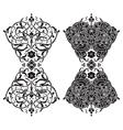 Circular pattern Islamic ethnic ornament for vector image