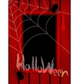 to the Halloween vector image vector image