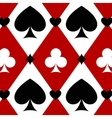 Luxury casino gambling background with card vector image