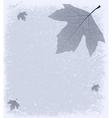 Grunge Frosty Background vector image vector image