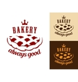 Bakery food symbol vector image vector image