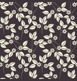 beautiful endless pattern with floral bouquet vector image