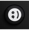 black circle icon Eps10 vector image vector image