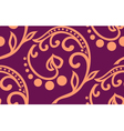 Stock seamless twiddle pattern with curves vector image