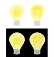 electric bulbs vector image vector image