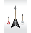 rock guitar vector image