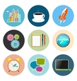 Set of Business Icons Team Work vector image