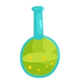 Laboratory glassware icon cartoon style vector image